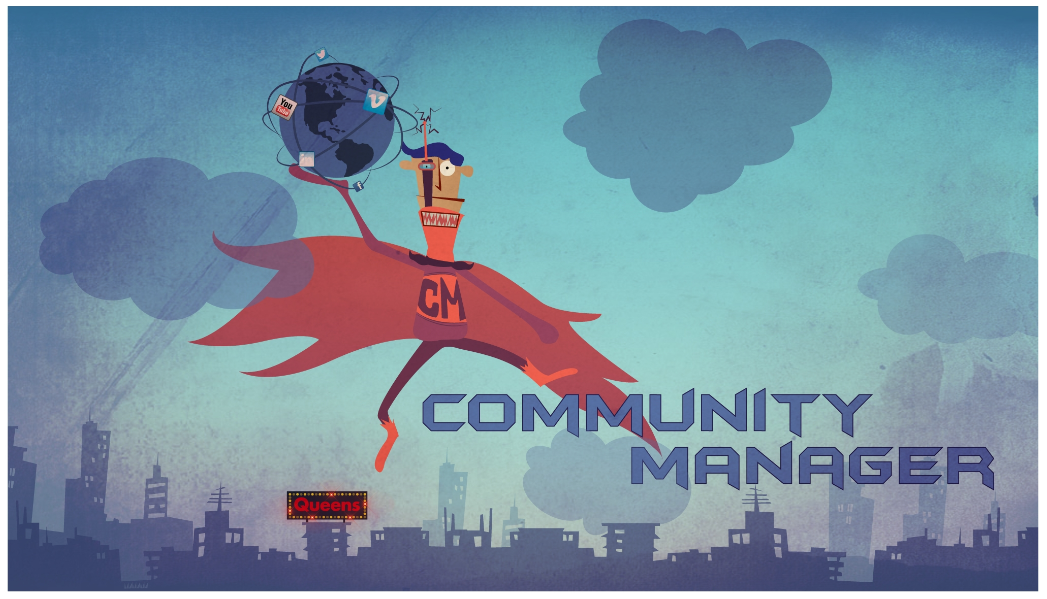 Community manager queens Comunity Manager El héroe de las Redes Sociales