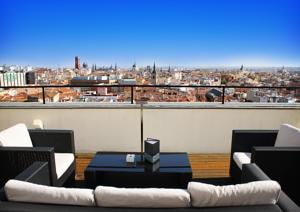 capitol 5 Terrazas para sorprender en Madrid