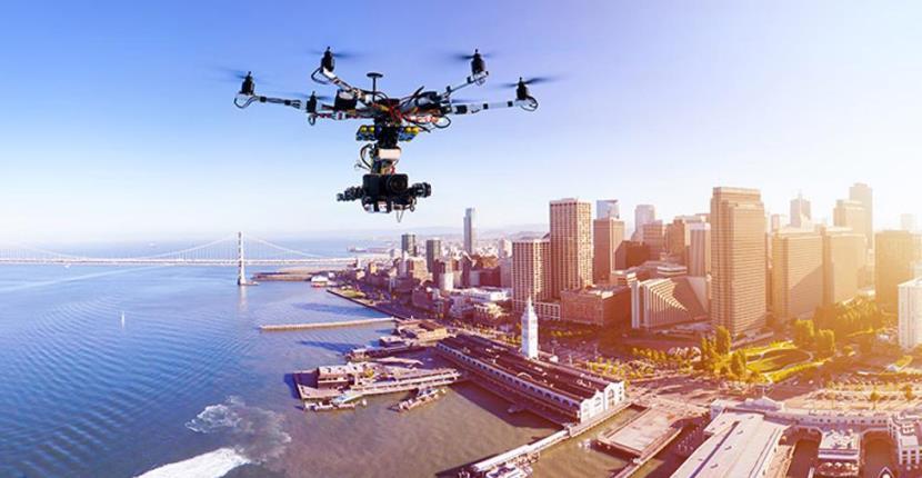 drone Tecnología en los eventos